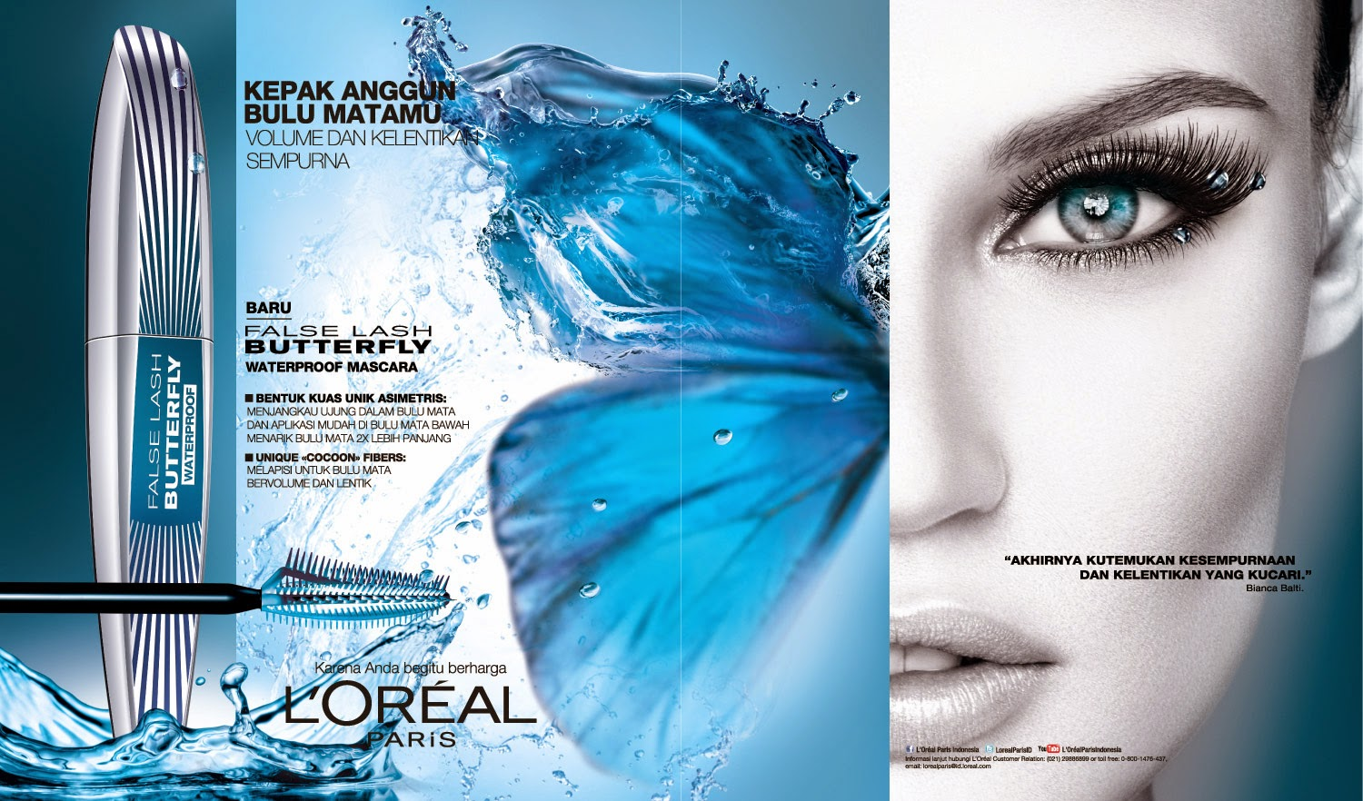 69d3e485f67 I didn't know about super liner and butterfly mascara, so thank you L'oreal  for giving me chance to try your new products.