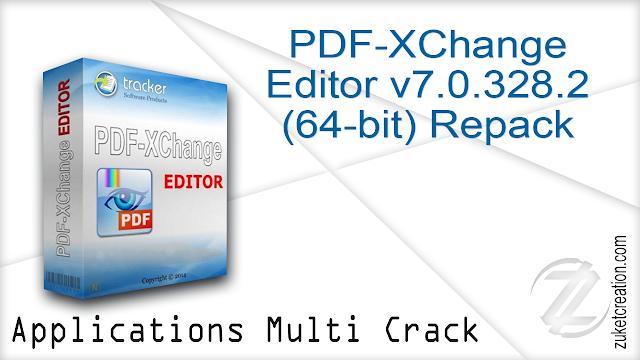 PDF-XChange Editor v7.0.328.2 (64-bit) Repack
