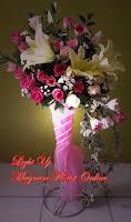 Rangkaian Mawar Elegan Untuk Perkawinan
