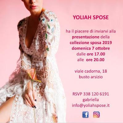 sfilata collezione nuova yoliah spose