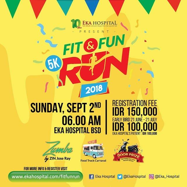 Eka Hospital - Fit & Fun Run • 2018