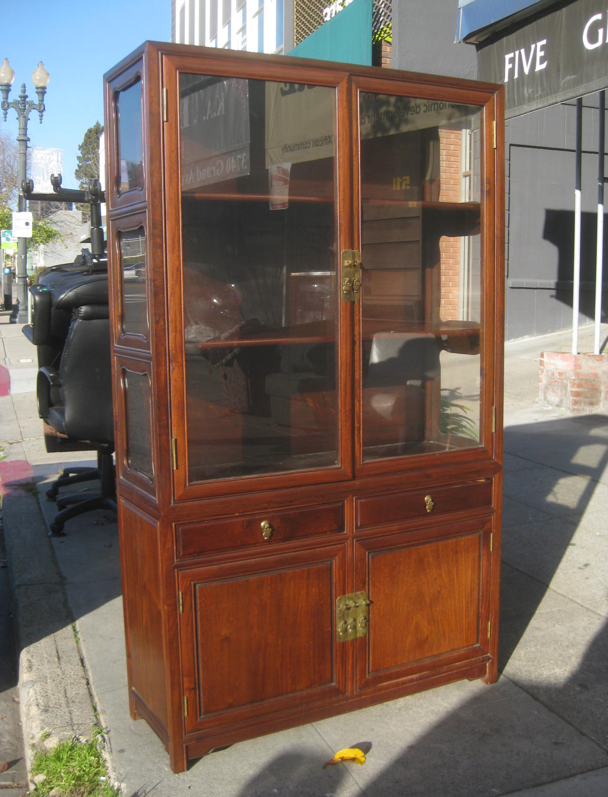 Asian Display Cabinet