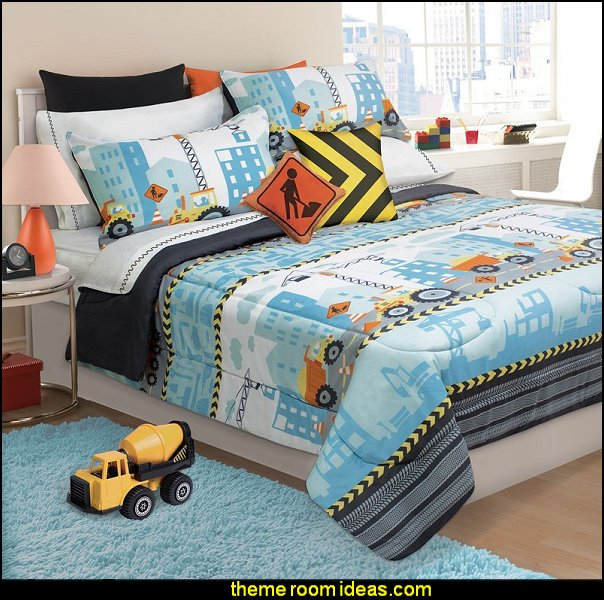construction theme bedrooms - Lego bedroom furniture - tools construction trucks theme bedroom  -  Lego theme bedroom decorating - boys bedrooms construction themed LEGO furniture  - under construction building site - construction themed  bedroom decor - Lego bedroom decor ideas - primary color bedroom ideas - Tool belt theme - Kids tool bedding - tool pillows -