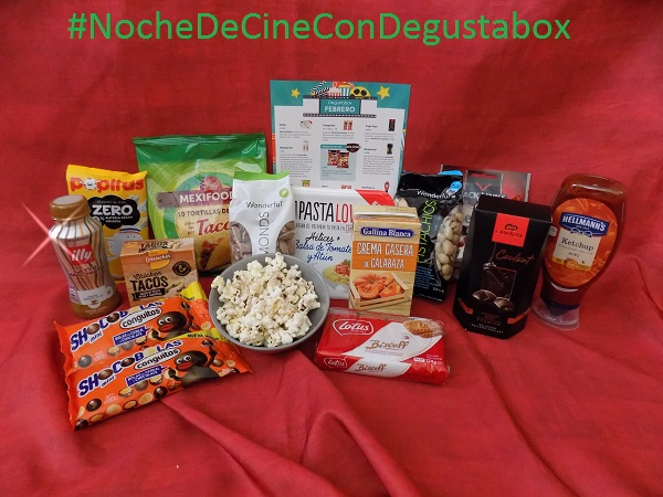 #NocheDeCineConDegustabox