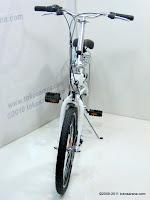 2 Sepeda Lipat FORWARD Rangka Aloi dengan Rem Cakram 20 Inci
