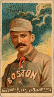 King Kelly Baseball Card