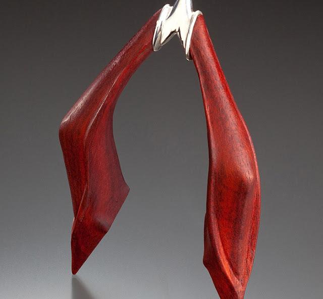 Christina Donato wishbone sculpture