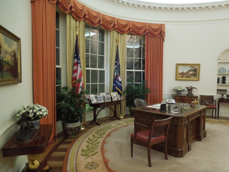 Oval Office Ronald Reagan Presidential Library Museum