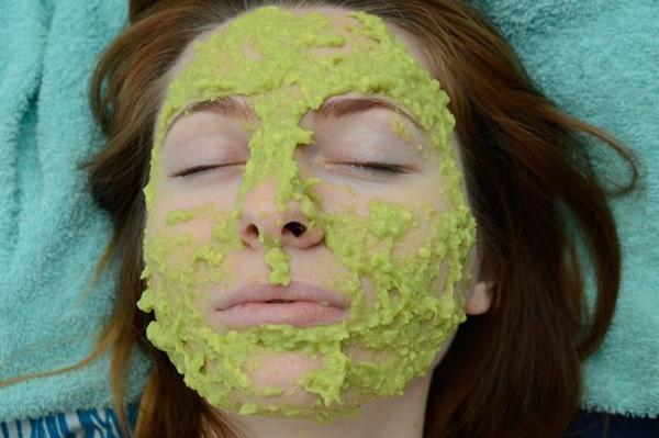 Làm trắng da hiệu quả nhờ mặt nạ bơ
