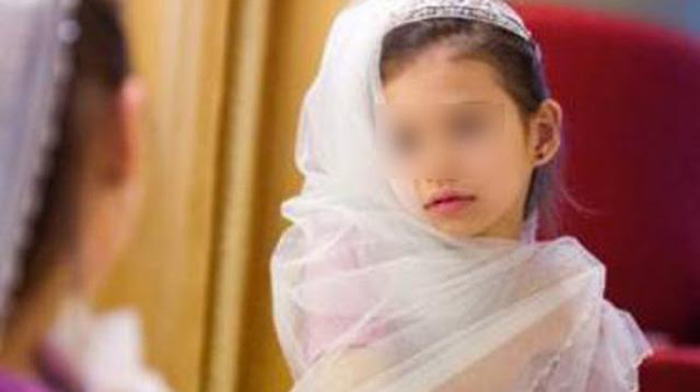 An 8-year-old girl from Yemen dies of internal bleeding, the night she married the 40-year-old man. Unacceptable!