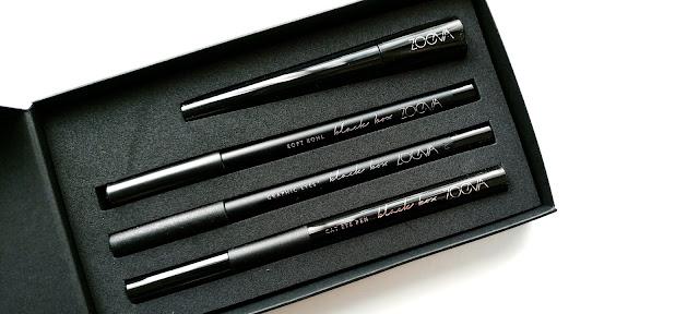 Zoeva Black Box, Zoeva Black Box Review, Zoeva Black Box Eyeliners, Zoeva Black Eyeliner