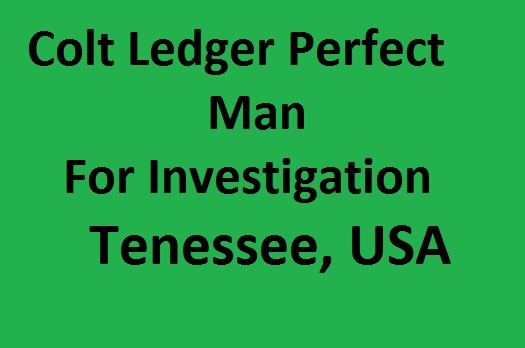 Colt Ledger Perfect Man