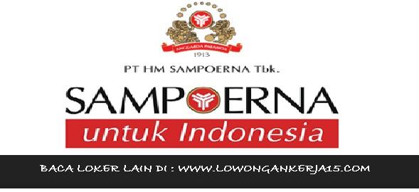 lowongan kerja Sampoerna