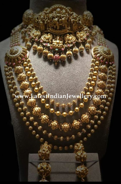 Heavy Nakshi Gold Jewellery