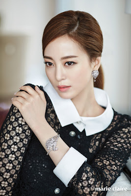 Han Ye Seul - Marie Claire Magazine April Issue 2016