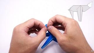 Cách gấp máy bay giấy phong cách Origami 123