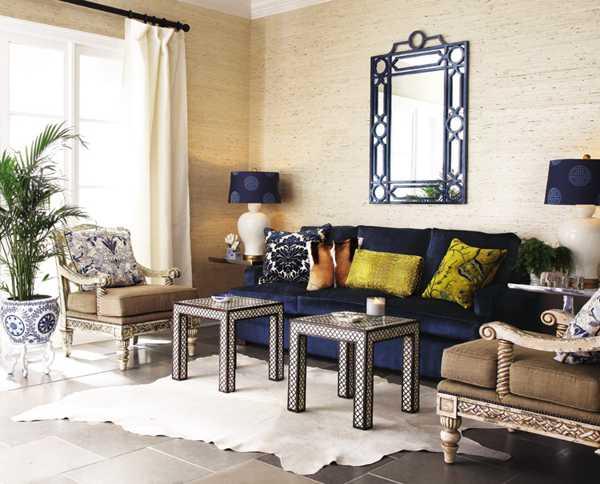 Modern Interior Design with Simple Mirror