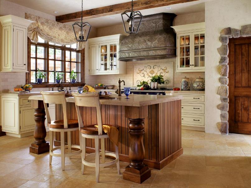 This Create A Classic French Rustic Country Style Kitchen Design In The  Right Way, Read Article