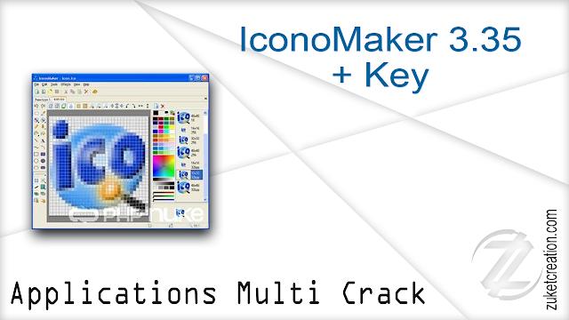 IconoMaker 3.35 + Key