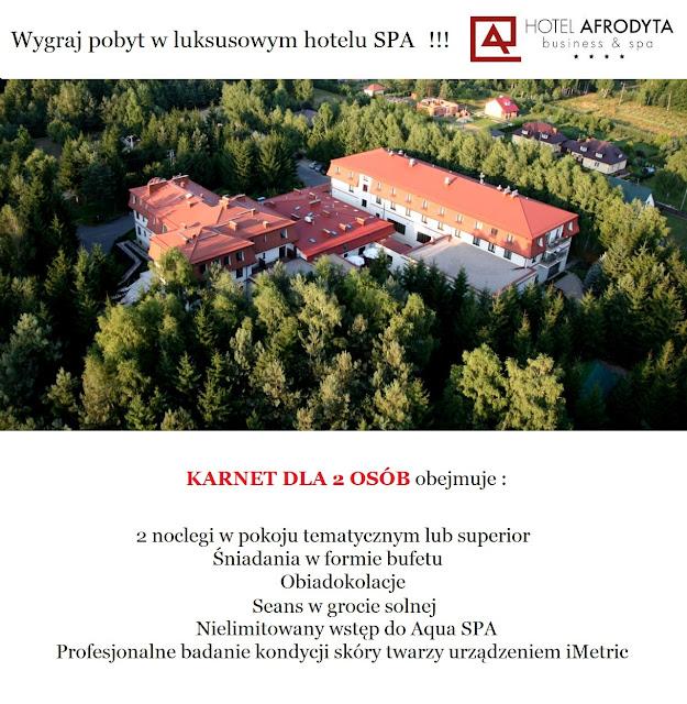 konkurs - wygraj pobyt w Hotelu Afrodyta Business & SPA