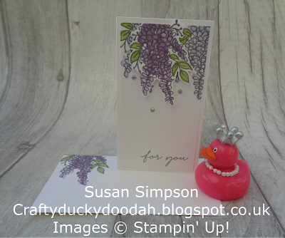 Craftyduckydoodah!, Stampin' Up! UK Independent  Demonstrator Susan Simpson, Stamp 'N Hop, Lots of Lavender, Supplies available 24/7 from my online store,