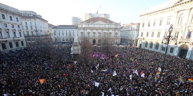 Voting of legalised gay marriage in Italy postponed