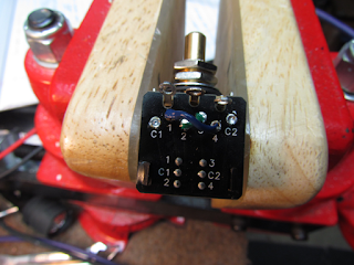 crawls backward when alarmed rickenbacker pickup switching mods here s the phase switch being wired