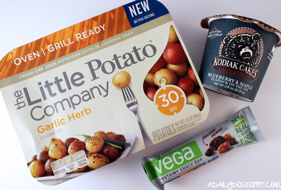 little potato company, vega, kodiak cakes, food, healthy food,