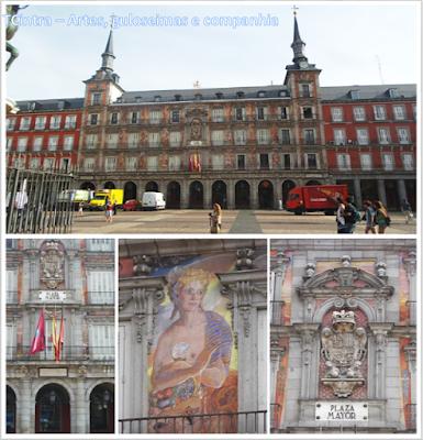 Madrid; Viagem Europa; Turismo na Espanha; Plaza Mayor