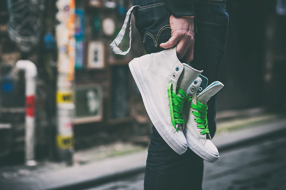 Converse 'Counter Climate' Chuck Taylor All Star II Shield Canvas Sneakers product photography by Tom Cunningham