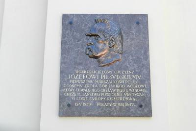 Marszałek Józef Piłsudski na wzgórzu Kahlenberg