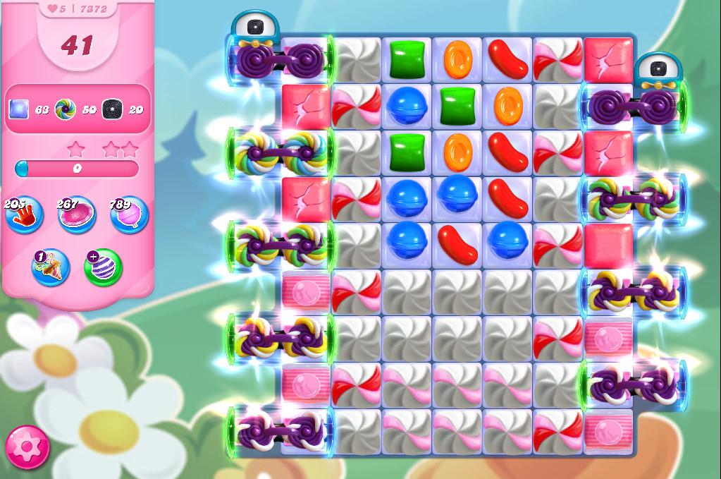 Candy Crush Saga level 7372