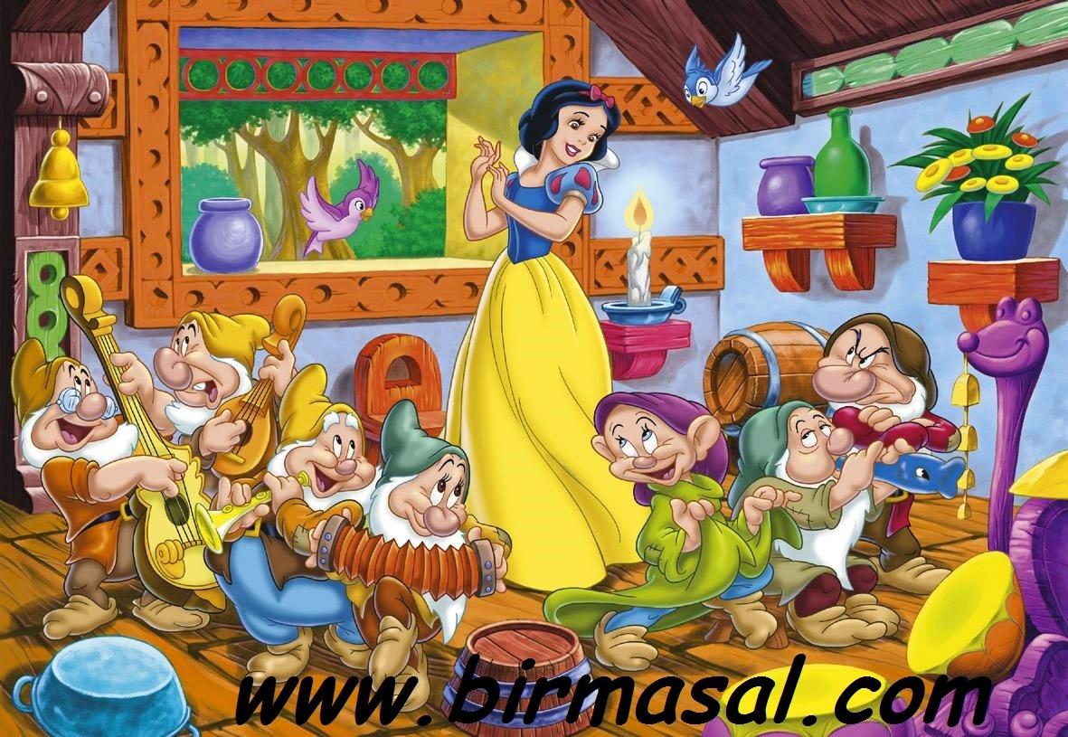 pamuk prenses masali
