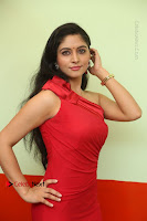 Actress Zahida Sam Latest Stills in Red Long Dress at Badragiri Movie Opening .COM 0037.JPG