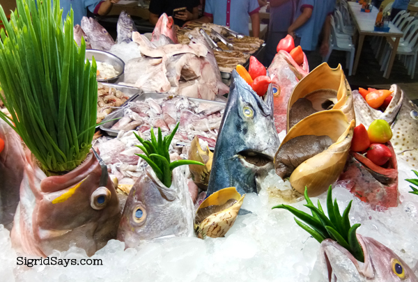 Diotay's Eatery - Bacolod restaurants - fresh seafood