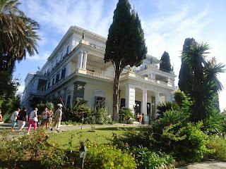 Greece Achilleion Corfu Sisi Palace