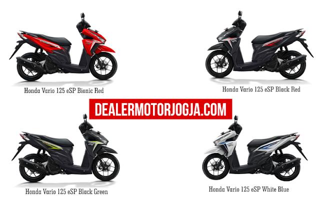 Promo Harga Terbaru Cash - Kredit Honda New Vario 125 Esp September 2016 Jogja