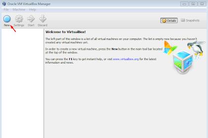 VirtualBox Menjalankan OS di Dalam OS