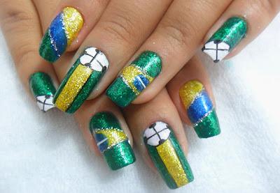 unhas da seleção brasileira