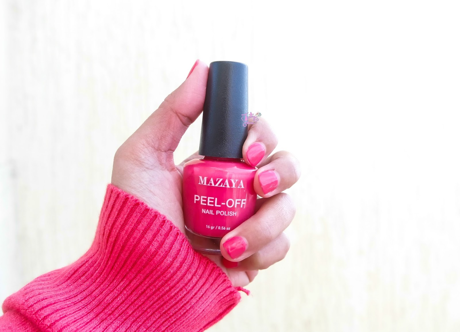 Image result for Mazaya Peel-off Nail Polish