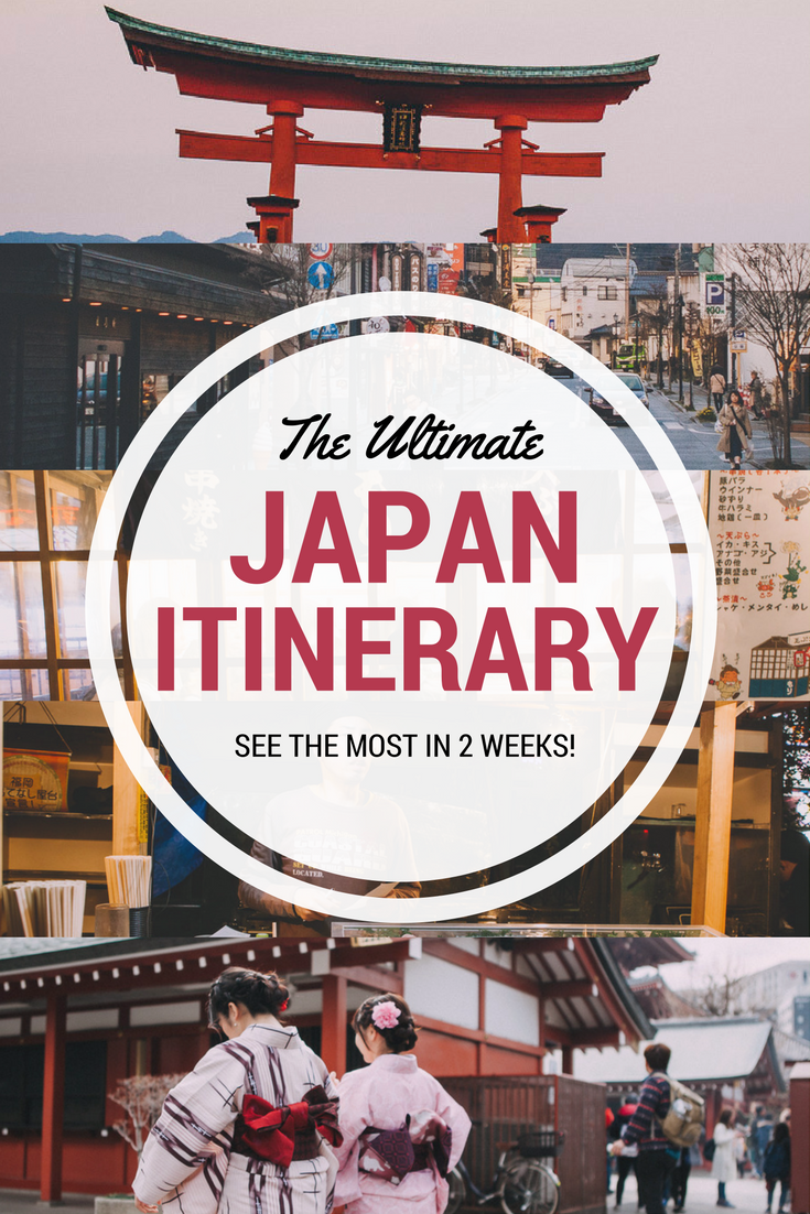 Japan 2 week itinerary for first timers see it all travel blog