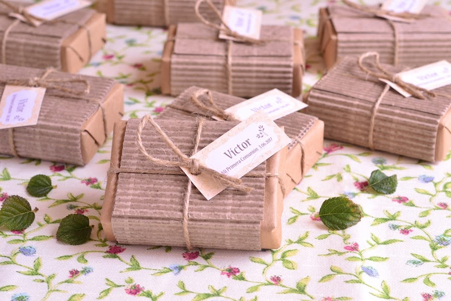 Detalles de comunion boda para hombres jabones hechos a mano