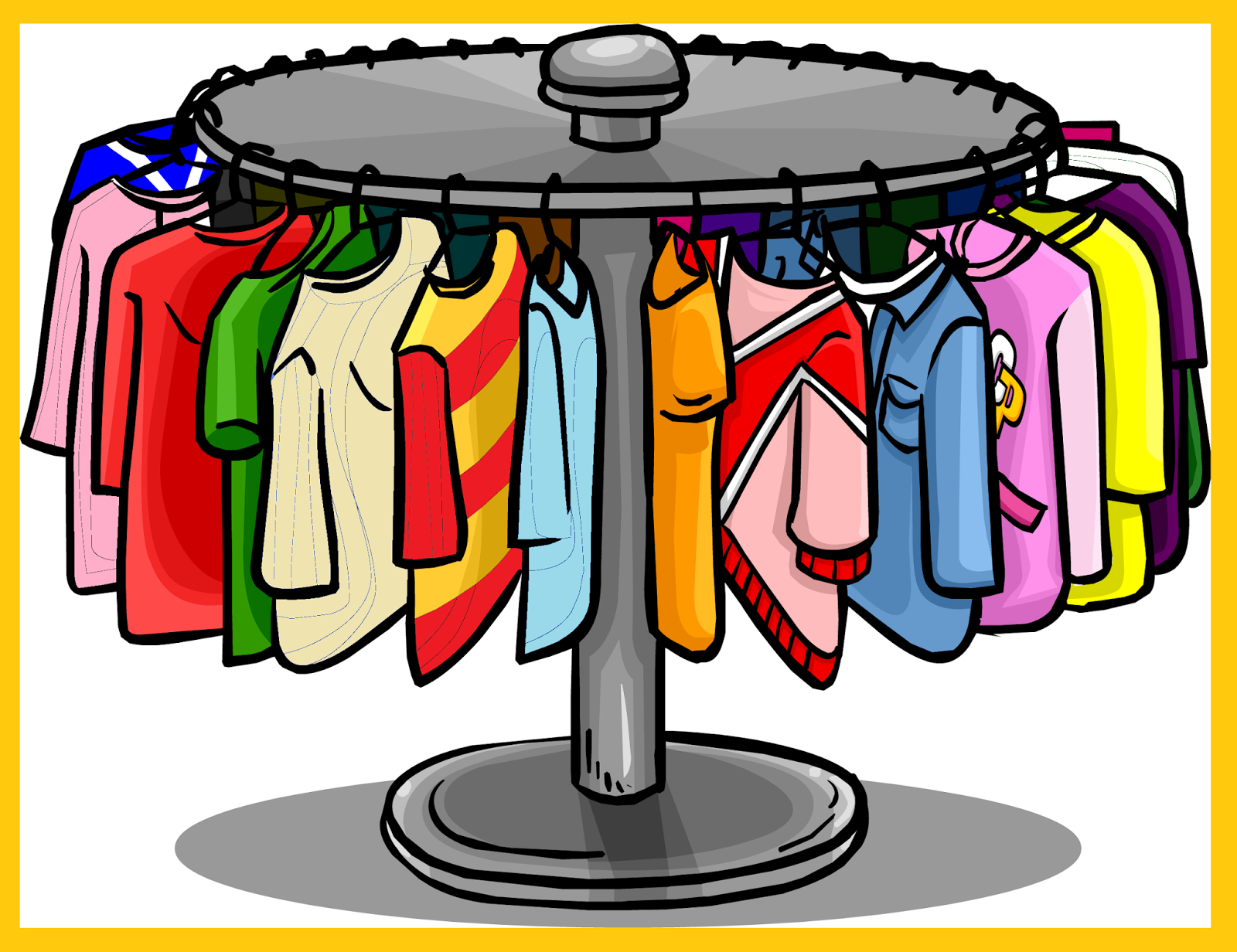 clipart hanging clothes - photo #24
