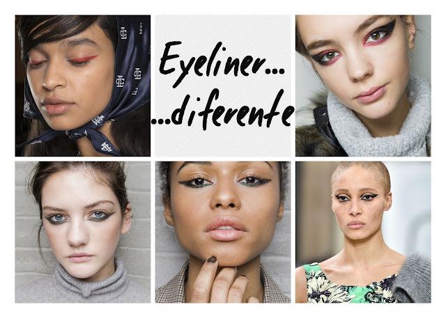 eyeliner diferente