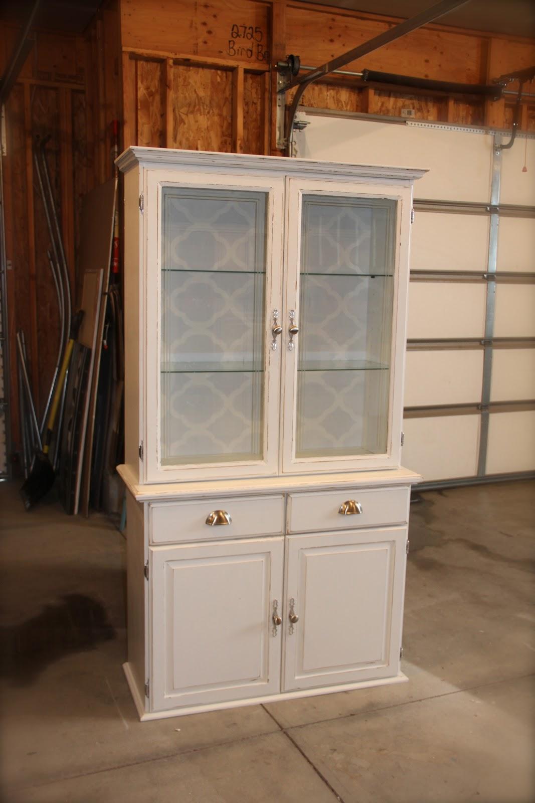 White Place Furniture : {Small Hutch}