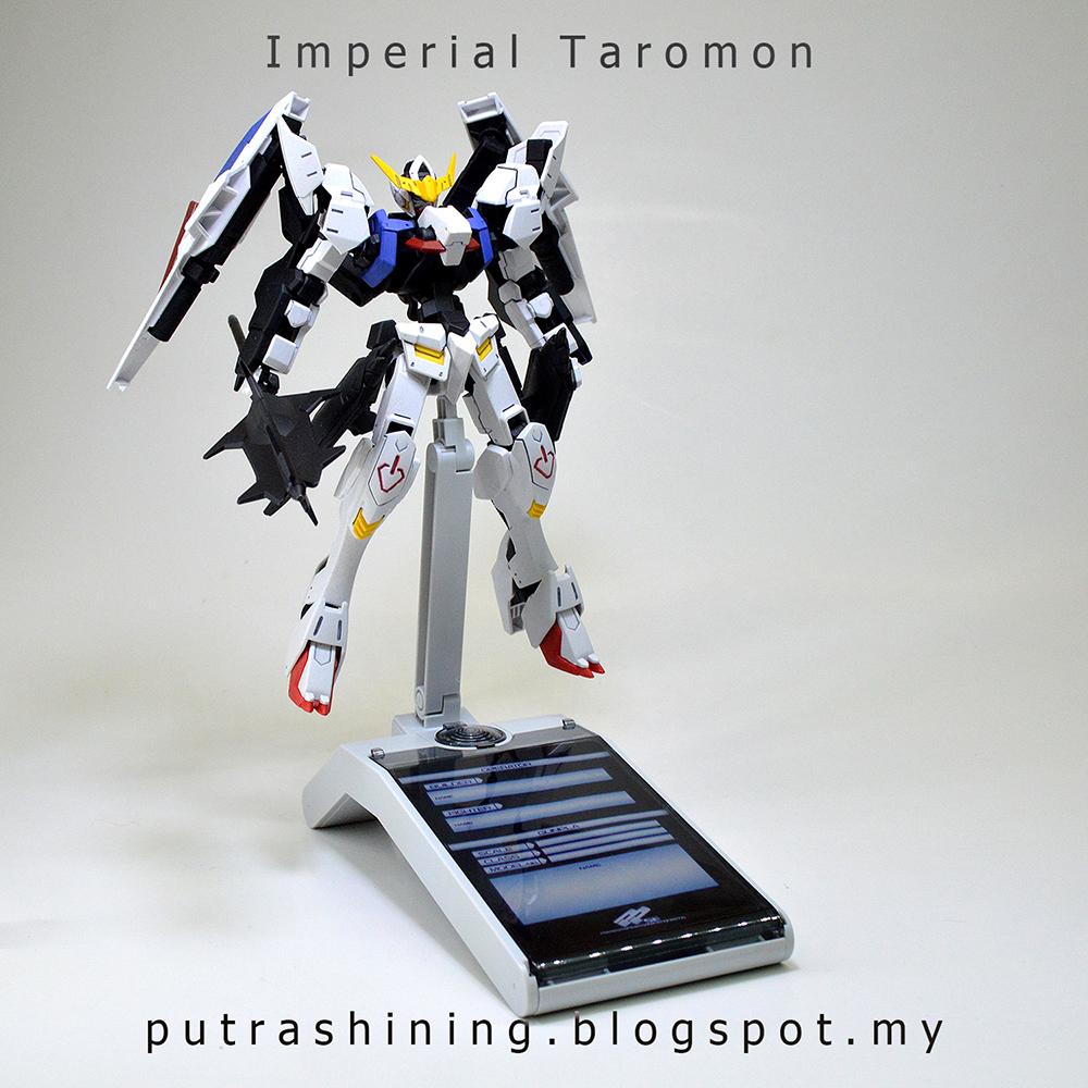 HGIBO 1/144 Gundam Barbatos 6th Form Custom by Putra Shining