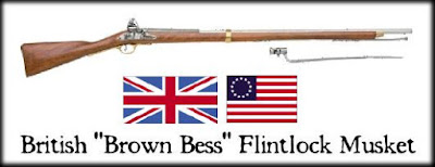 Picture of a Flintlock Musket called Brown Bess