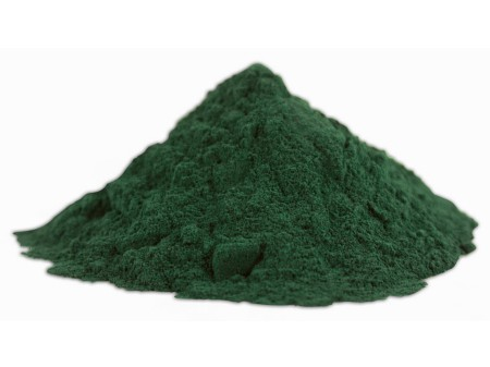 Alga espirulina en polvo