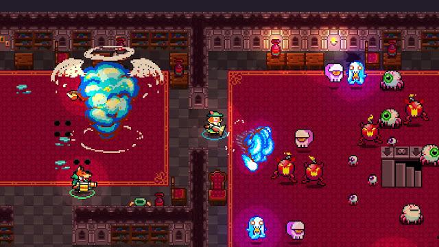 El arcade de disparos pixelado Monsters & Monocles tiene nuevo trailer y se presenta formalmente a Steam