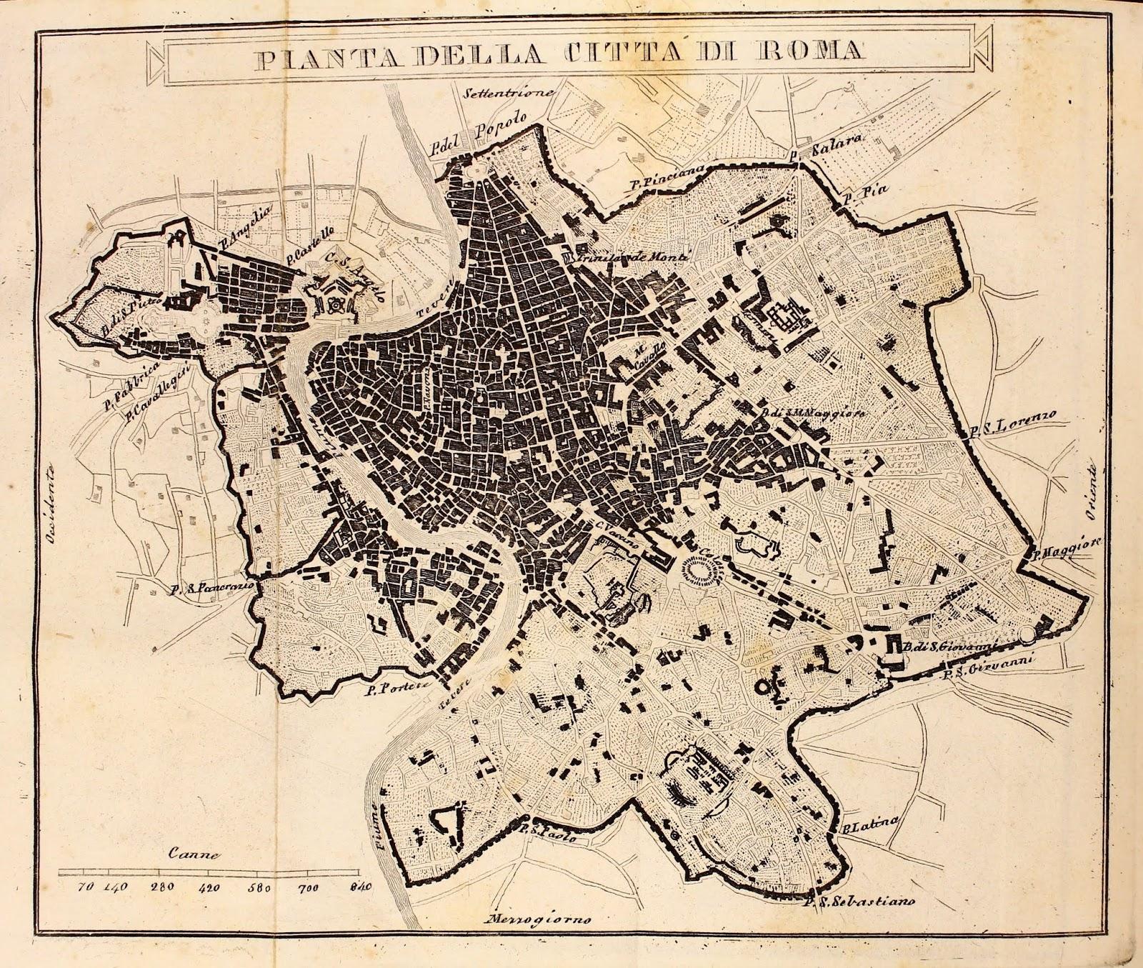 Centro Storico Cartina Geografica Roma.Carte Geografiche